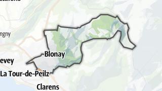 Карта / Blonay