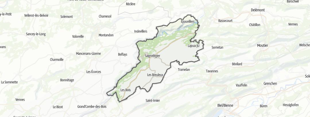 Map / Franches-Montagnes