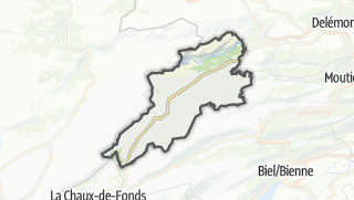 Mapa / Franches-Montagnes
