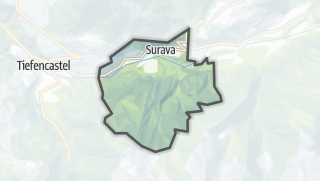 Karte / Surava