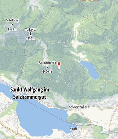 Karte / Sommeraualm 1186 m