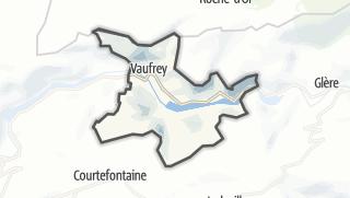 Mapa / Vaufrey
