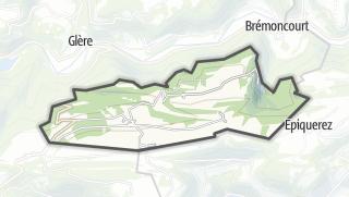 Mapa / Burnevillers