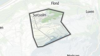 Carte / Surcuolm