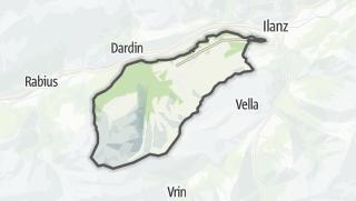 מפה / Obersaxen