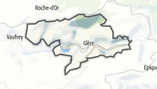 Térkép / Glère