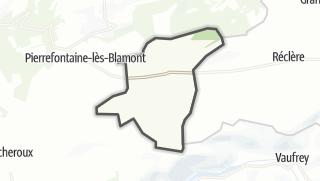 Térkép / Villars-lès-Blamont
