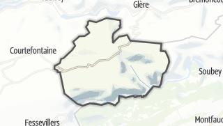 Mapa / Indevillers