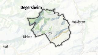 Cartina / Schwellbrunn