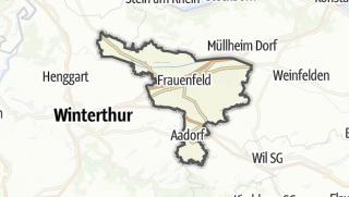 Karte / Frauenfeld