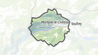 Térkép / Montjoie-le-Château