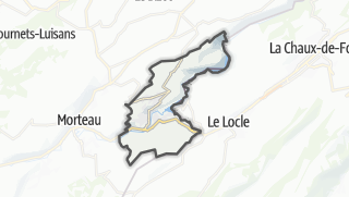 Térkép / Villers-le-Lac