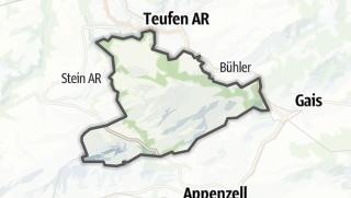 Karte / Schlatt-Haslen