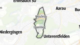 Cartina / Eppenberg-Wöschnau