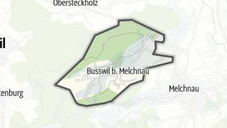 מפה / Busswil bei Melchnau