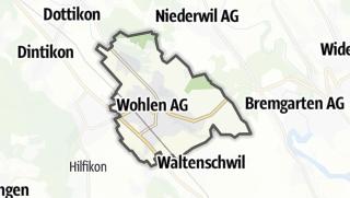 מפה / Wohlen (AG)