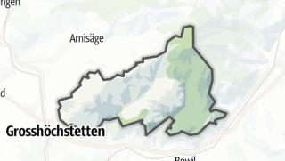 Hartă / Oberthal