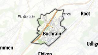 מפה / Buchrain