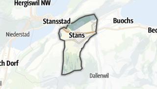 Mapa / Stans