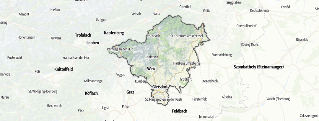 Hartă / Pensiune in Oststeiermark