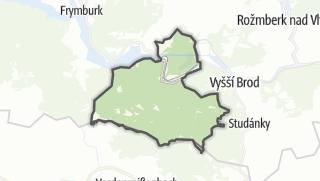 Karte / Loučovice