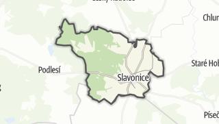 Karte / Slavonice