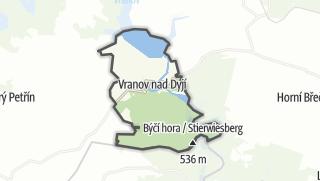 Karte / Vranov nad Dyjí
