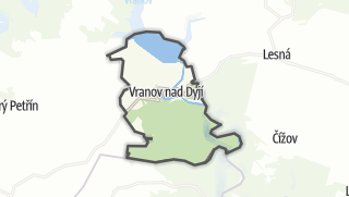 Carte / Vranov nad Dyjí