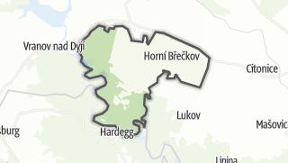 מפה / Horní Breckov
