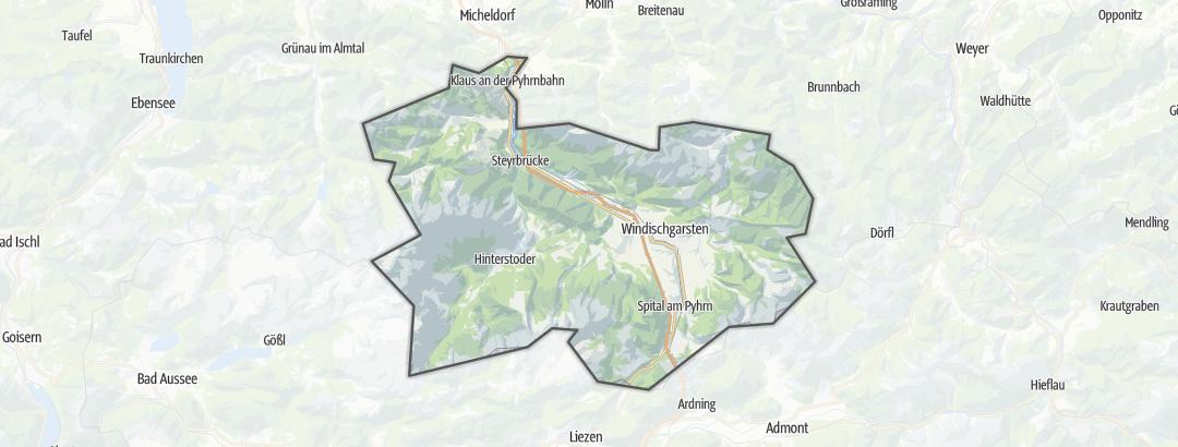 מפה / פעילויות מאורגנות ב Pyhrn-Priel