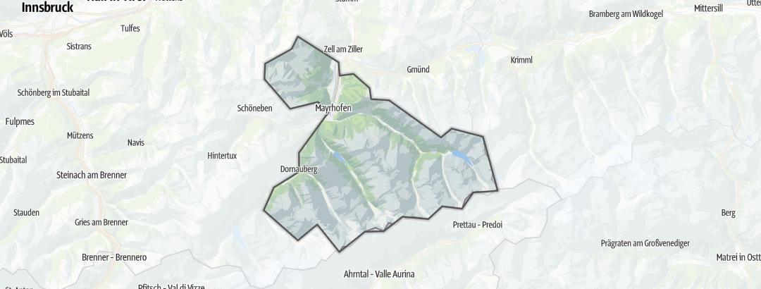 Carte / Eau & Vent - Mayrhofen