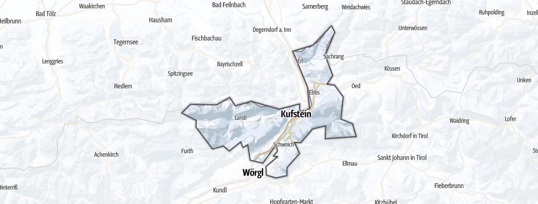 Mappa / Sci di fondo in Kufstein Ferienland
