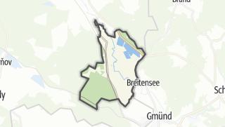 Karte / Nová Ves nad Lužnicí