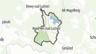 מפה / Nova Ves nad Lužnicí