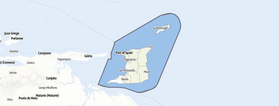 Map / Trinidad and Tobago
