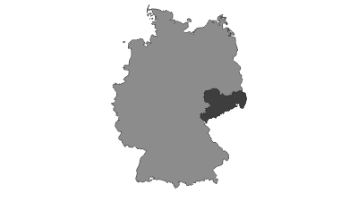 Karte / Sachsen