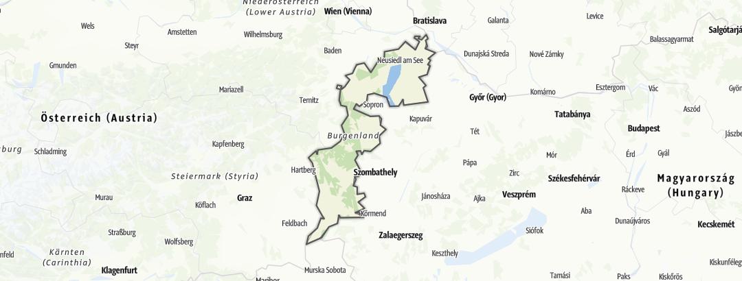 מפה / בורגנלנד