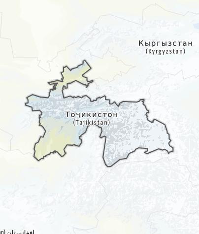 Karte / Tadschikistan