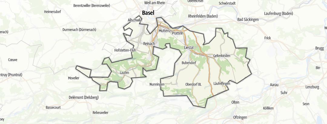 地图 / 在Basel-Country里的旅馆