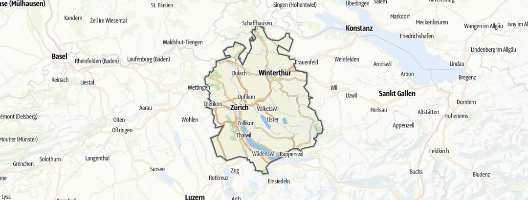 Mappa / Zurigo