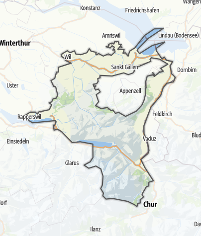 Map / Sankt Gallen