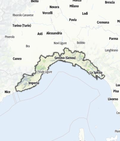 Karte / Ligurien
