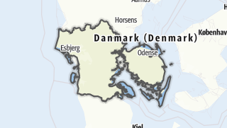 Cartina / Syddanmark
