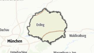Mapa / Erding