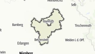 Karte / Bayreuth