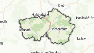 Carte / Tirschenreuth