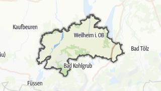 Karte / Weilheim-Schongau