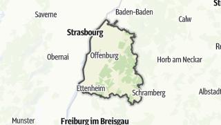 地图 / Ortenaukreis