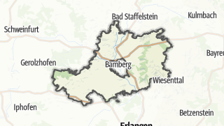 Cartina / Bamberg