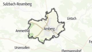 Karte / Amberg